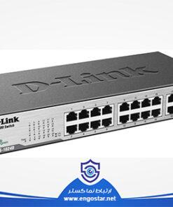 سوئیچ شبکه دی لینک 24 پورت Used DES-1024D