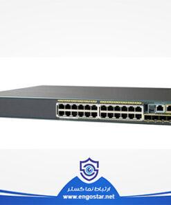 سوئیچ شبکه مدیریتی سیسکو WS-C2960S-24TS-L 24-Port