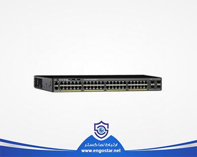 سوئیچ شبکه PoE+ سیسکو 48 پورت WS-C2960X-48FPS-L